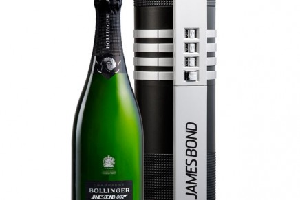 Limited-edition Bollinger champagne dedicated to 007