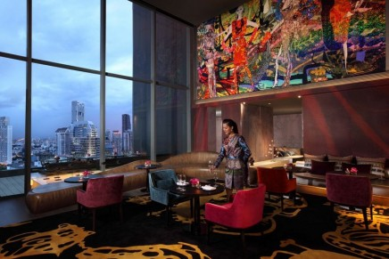 Christian Lacroix launches lounge in Bangkok's design boutique hotel