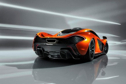 The next generation McLaren P1 supercar limited to 500 models