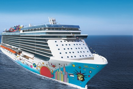 Norwegian Breakaway cruise ship to feature two-deck spa and the first salt room at sea