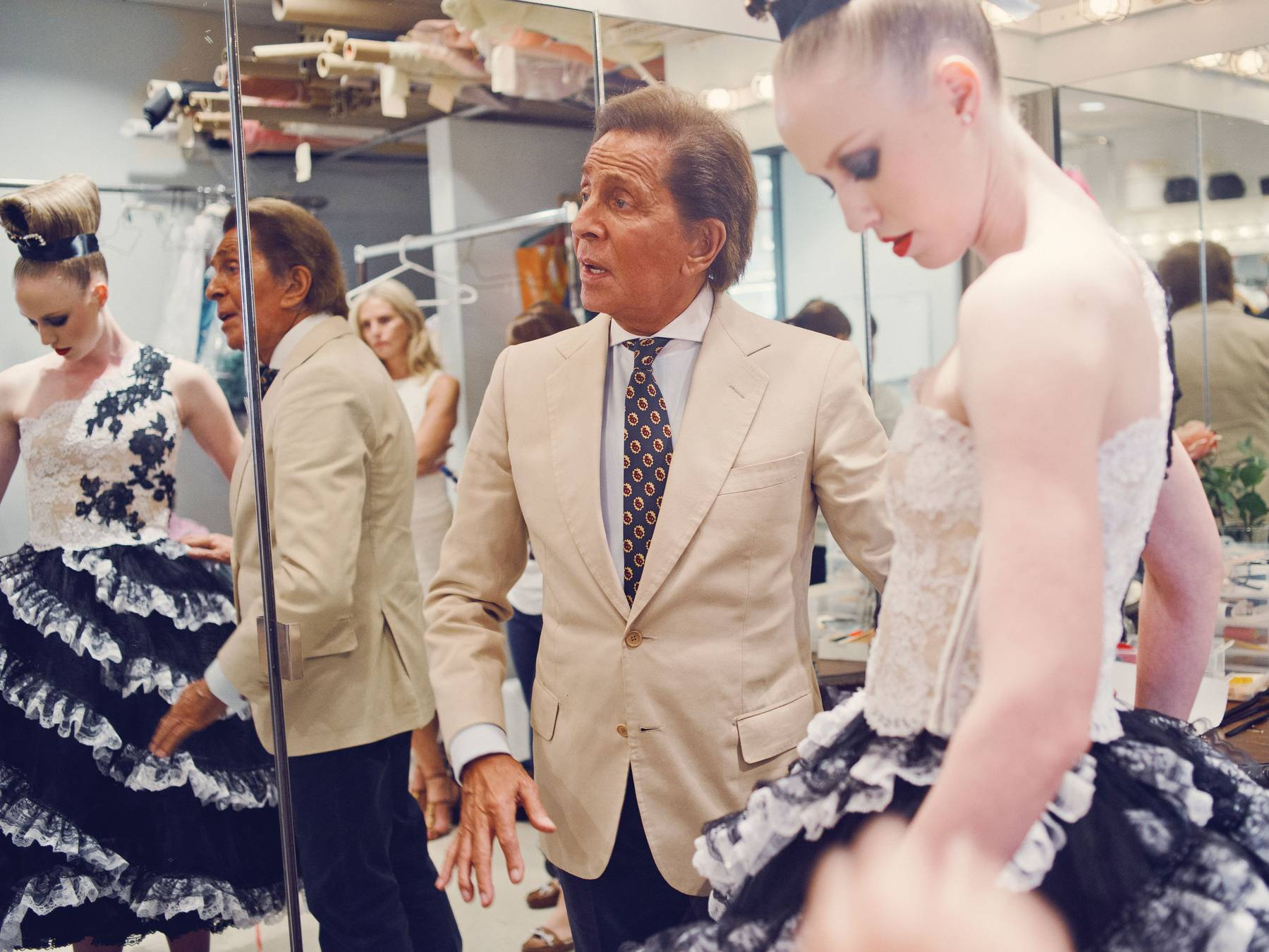 Valentino Garavani for the New York City Ballet