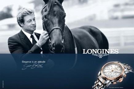 Elegance is an attitude: Simon Baker and the Longines Saint-Imier Collection