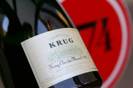 Exclusive Krug dinners with chef Marc Forgione to honor America's first certified female Master Sommelier