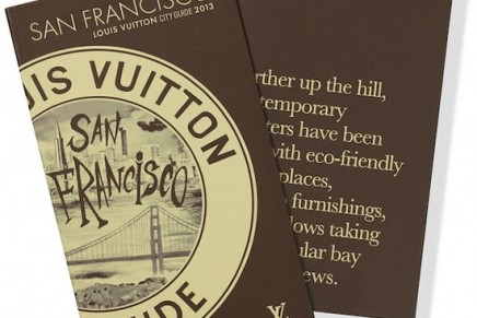 New Louis Vuitton City Guides 2013 to explore every facet of San Francisco & New York
