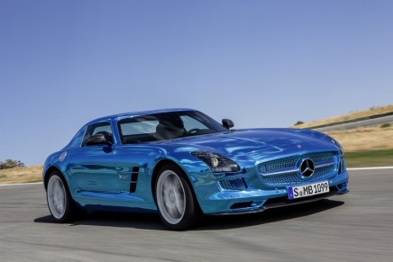 Mercedes-Benz SLS AMG Coupé Electric Drive – world's fastest electrically-powered series production vehicle