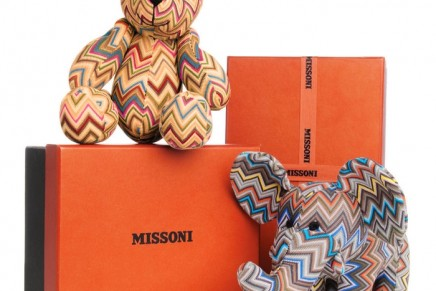 Missoni designed elephant and bear to benefit OrphanAid Africa