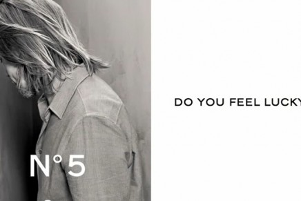 Where? Why? Mystery? Brad Pitt's campaign for Chanel No. 5