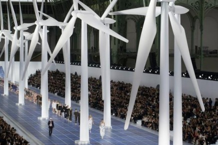 Chanel Spring-Summer 2013 powered by renewable energy