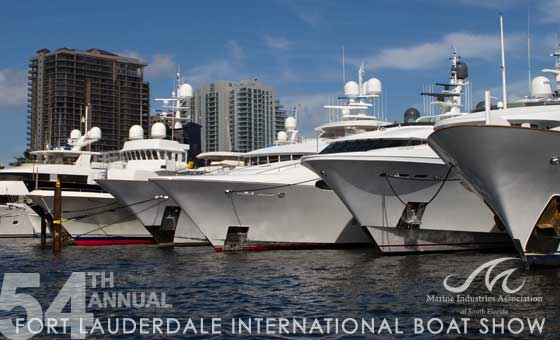 Fort Lauderale International Boat Show week 2013