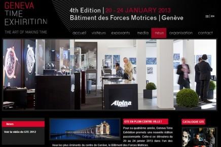 Geneva Time Exhibition 2013