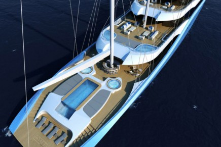 Synergy Yacht 'Atlas', a new concept from H2 & Laurent Giles