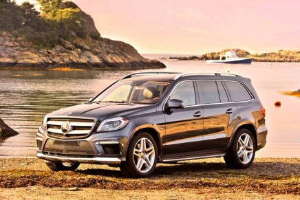 2013 Mercedes-Benz GL-Class wins Motor Trend Sport/Utility of the Year