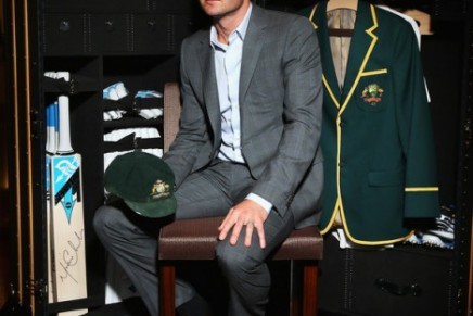 Michael Clarke's custom-built Louis Vuitton cricket trunk goes towards charity