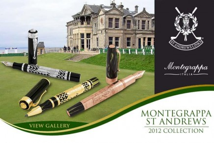 St Andrews Links, the 'Home Of Golf', commemorated with Montegrappa limited edition