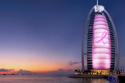 Pinking Burj Al Arab