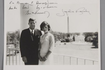 Presidential collectibles from the Truman through the Reagan administrations sold at auction