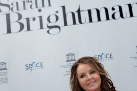 Singer Sarah Brightman to sing a song from space