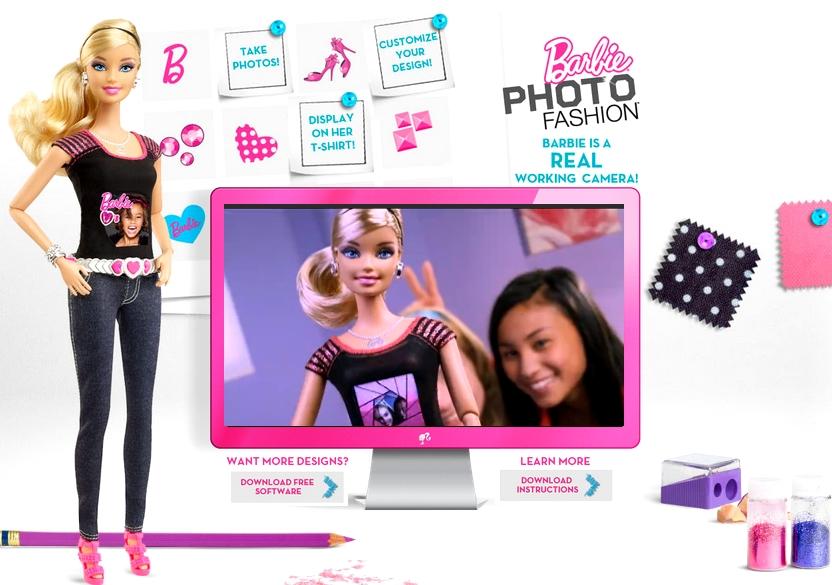 barbie fashion doll 2012