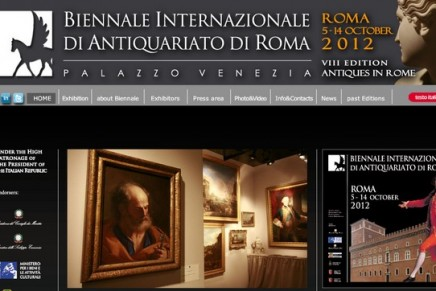The Biennale di Antiquariato di Roma 2012
