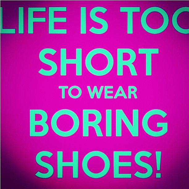 boring shoes