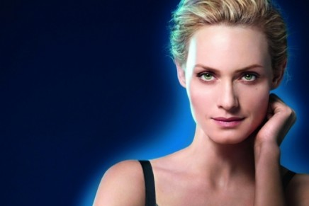 Amber Valletta for Biotherm's Blue Therapy