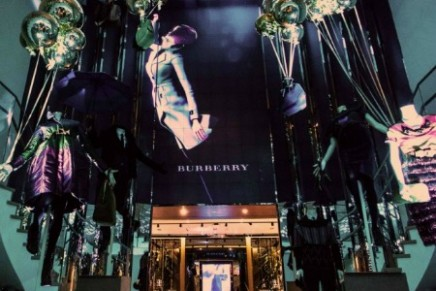 Burberry Pacific Place flagship store in Hong Kong – brand's largest store in Asia