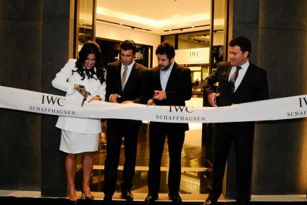 First IWC Schaffhausen boutique in South America