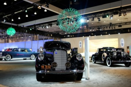 Lincoln at Los Angeles Auto Show: reinvention through seven iconic Lincolns of the past