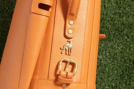 Bespoke golf bags revealed by Treccani Milano
