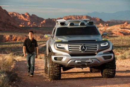 Back from the green future: Mercedes-Benz Ener-G-Force