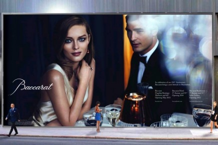Baccarat celebrates a new flagship store and Baccarat Hotel & Residences New York