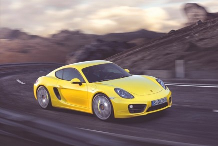 Porsche's third generation of the Cayman revealed