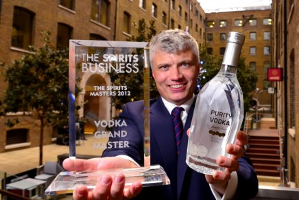 World's most awarded ultra-premium vodka wins gold at the 2012 Vodka Masters