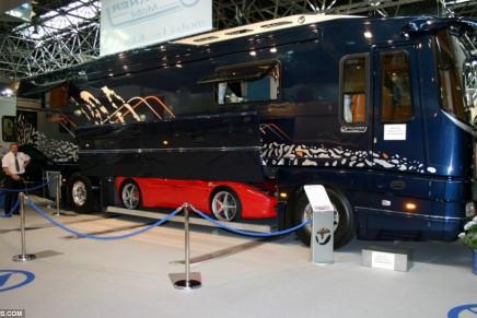 World's ultimate camper van: Volkner Mobil Performance Bus
