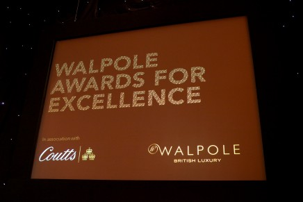 Mulberry, Burberry and Orlebar Brown awarded at the 2012 Walpole Awards