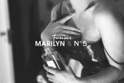 Just a few drops of N°5. Listen to Marilyn Monroe talk about Chanel No. 5