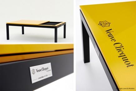 Veuve Clicquot billiard fusiontable