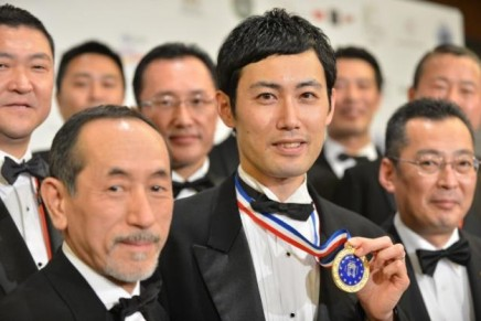 World's Best Waiter, Shin Miyazaki, named in Georges Baptiste Cup