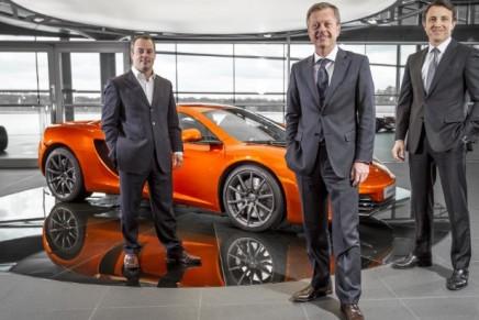 McLaren opens first Geneva showroom