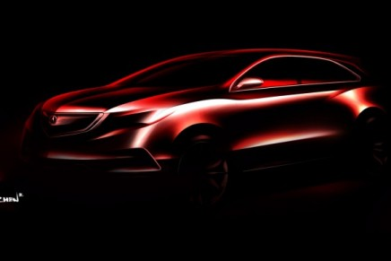First look at the 2014 Acura MDX Prototype