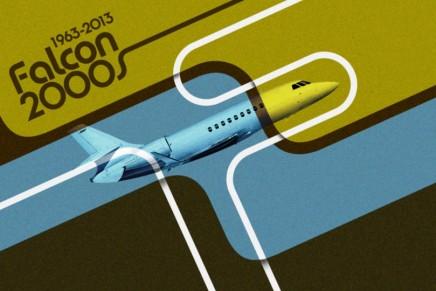 Back to the Future: Dassault Falcon celebrates the 50th anniversary