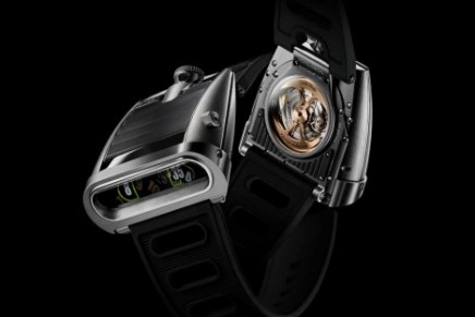 MB&F's timepiece with a 1970s twist: HM5 On The Road Again