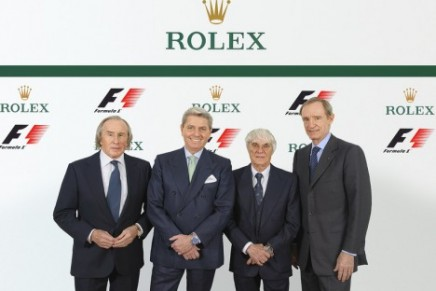 """""""Formula 1 is the right place for Rolex to be"""""""