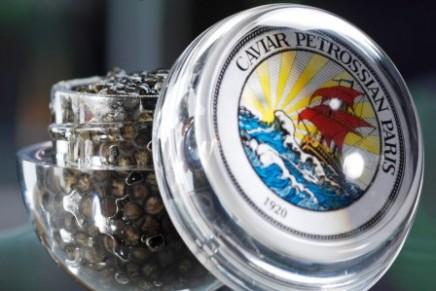 Caviar on board for the holiday season