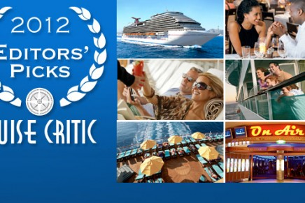 The best in the cruise industry: Best Cruise Ships of 2012