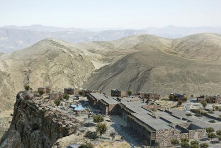 First luxury hotel in Oman mountains to open next year