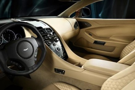 First Aston Martin's centenary celebrated with Vanquish