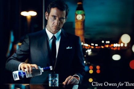 Clive Owen for Three Olives
