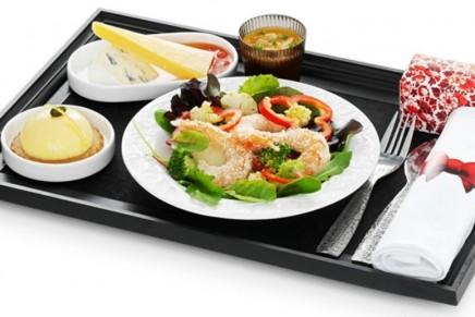 Serving good food at altitude: airlines with best menus