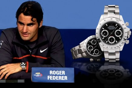Rolex named the official timekeeper of the ATP World Tour